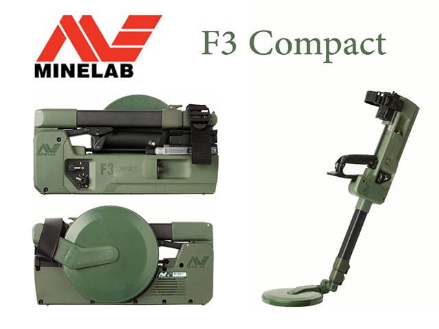 فلزیاب F3 Compact شرکت MINELAB