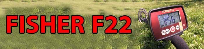 فلزیاب FISHER F22 ساخت آمریکا