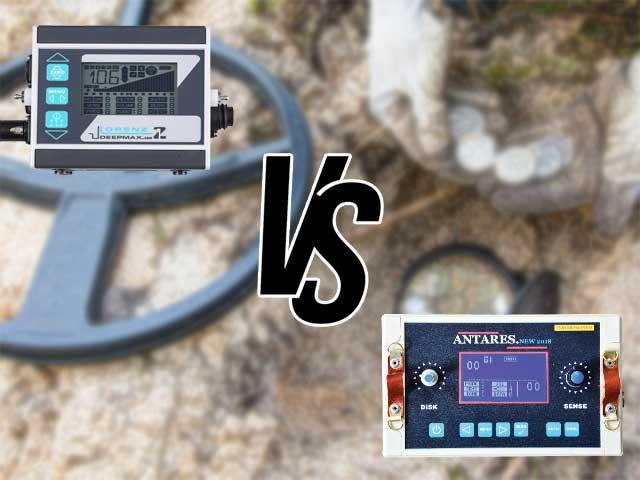 مقایسه فلزیاب LORENZ Z1 و فلزیاب ANTARES
